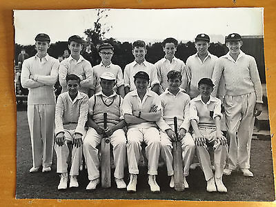 c1955 Colin Milburn in youth team Oldham Chronicle Press Photograph vgc
