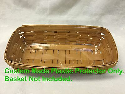 Plastic Protector Only Custom Made for the Longaberger Bread Basket