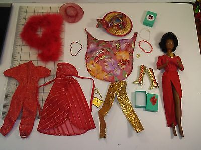 Vintage 1979 Barbie Doll Disco She's Dynamite  with extras lot