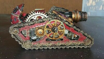 Forgeworld mechanicum krios venator tank painted