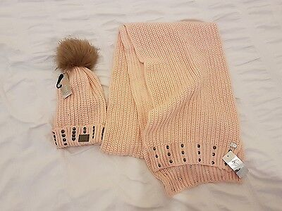 Bnwt Lipsy Hat And Scarf Set Rrp £34