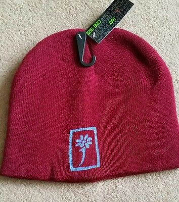 james the band tim booth beanie hat. Dark red