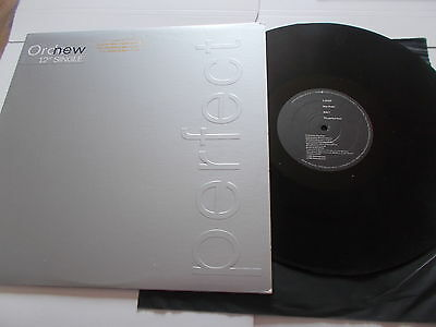New Order 12 Perfect Kiss Dub Mix Promo Sleeve Us Copy