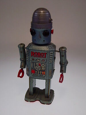 "GSR  ""R 35 ROBOT""  MODERN TOYS JAPAN, 22cm, NO REMOTE CONTROL !  GUT/GOOD"