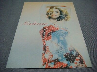 Madonna American Pie Japan Ad Postcard Music The Next Best Thing