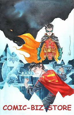 Super Sons #5 (2017) 1St Printing Variant Cover Dc Universe Rebirth