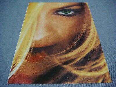 Madonna Ghv2 Foldout Ad Flyer Greatest Hits Vol.2