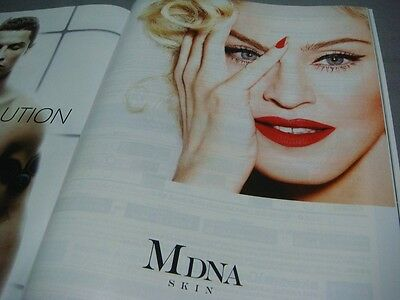 Ana Sky Shop Jul. & Aug. 2016 Magazine Madonna Mdna Skin