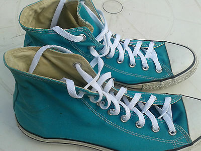 Converse All Star Hi Top Trainers - Turquoise - Men's UK Size 12