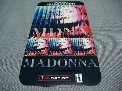 Madonna Mdna Japan Ad Sticker Girl Gone Wild