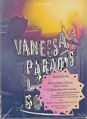 Love Songs Tour [Limited  Edition]  Vanessa Paradis 2 Cd`s+ 1 Dvd New Sealed
