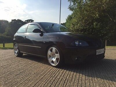 Seat Ibiza Cupra 1.9 TDI PD160 Modified Diesel Black 200bhp Audi Alloys