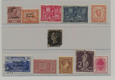 Few first issues with Great Britain 1840, 1p black , Penny Black, P-?, Plate?
