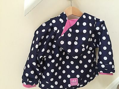 JoJo Maman Bebe Spring/Summer Rain Jacket 6-12 Months Lovely! TWINS??