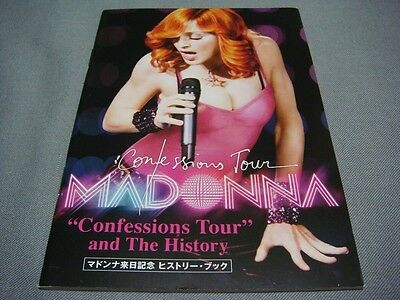 Madonna Confessions Tour And History Japan Mini Book