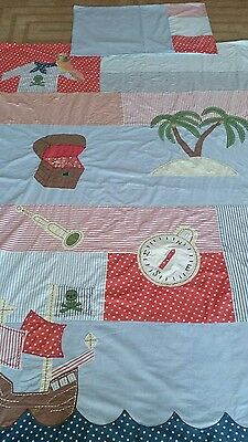 laura ashley boys and girls pirate duvet and pillow case set