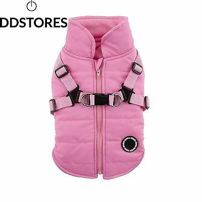 Puppia Mountaineer II Manteau d Hiver pour Chien Rose Taille S