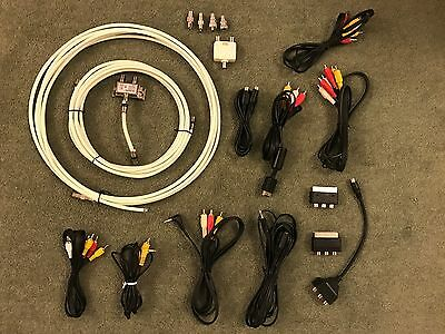 Bundle of power, AV, iphone 4, telephone, HD, scart, co-axel - Cables and wires