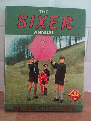 The Sixer Annual For All Cub Scouts Published 1971 Vintage Book
