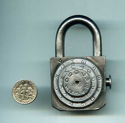 Old Combination Padlock.