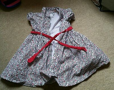 girls Jasper Conran dress 12-18 months ( can bring to canary wharf)
