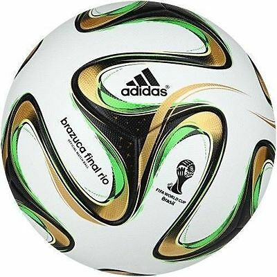 Adidas Brazuca 2014 FIFA World Cup Final Rio Match Foot Ball-AA001