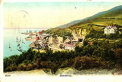MERIONETHSHIRE - 1905 Postcard of ABERDOVEY ( Posted Machynllech)