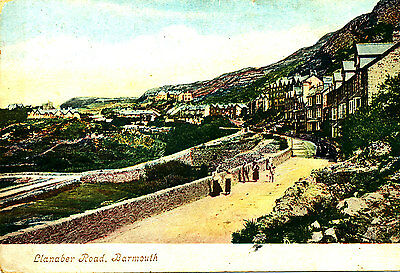MERIONETHSHIRE - 1906 Postcard of Llaaber Road, BARMOUTH