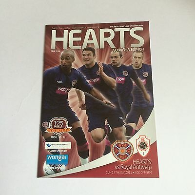 Hearts v Royal Antwerp 17/11/2011
