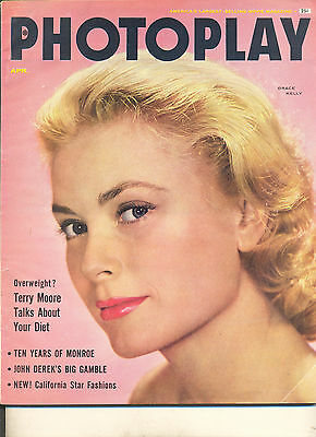 Movie Magazine - Photoplay 4/55 Grace Kelly cover