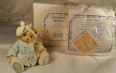 Boxed Cherished Teddies Kiss The Hurt and Make It Well 127965 Hot Water Bottle