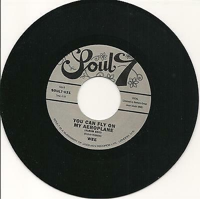 WEE - Try me / You can fly on my aeroplane - NORTHERN SOUL 7'' 45rpm - LISTEN!!