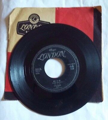 "Little Richard - Rip It Up / Ready Teddy  - 7""  London Hl 8336 Italy 1956 First"