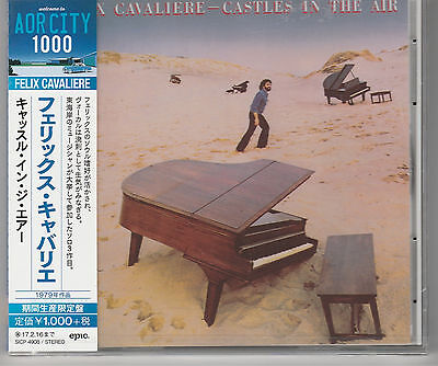 Felix Cavaliere Castles In The Air Japan Import New and Sealed.