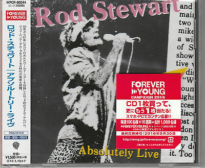 Absolutely Live by Rod Stewart (CD, Jul-2016) Japan Import New and Sealed.