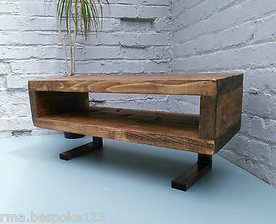 industrial tv stand. Tv Stand Contemporary Rustic Industrial Unit With L Shaped Legs