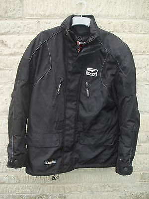 Axo breathable/waterproof men's textile motorcycle jacket size XL