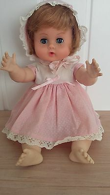 Vintage 1960's  Vogue Ginny Baby Doll-Original Outfit