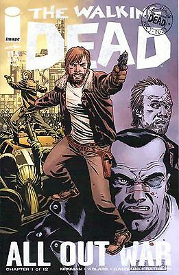 The Walking Dead # 115 1St Print All Out War Begins Here, Part 1 Of 12. Cover A