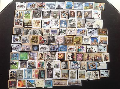 100 Different GB High Value HV Commemorative Stamps Great Britain Commems 2