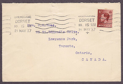 Great Britain postal history Edward VIII DORSET