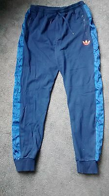 Mens Adidas Jogging Bottoms, Size Large