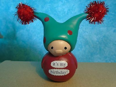 Enesco Bea's Wees Figurine 'it's my birthday!l' Cute Little Figure