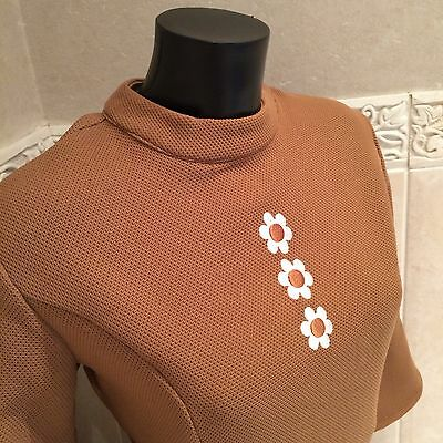 Mod Sixties 60s Retro Mary Quant Style Dress Size 14 Brand New