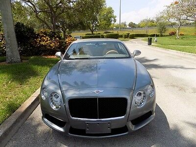 2013 Bentley Continental GT GTC V8 Convertible 2-Door 2013 CONTINENTAL GTC CONVERTIBLE NAVIGATION EXTENDED WOOD TRIM REAR VIEW CAM FL