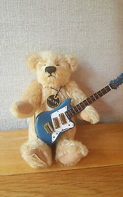 Dean's Limited Edition Bear, Duane with guitar LE 11/500 Tags etc