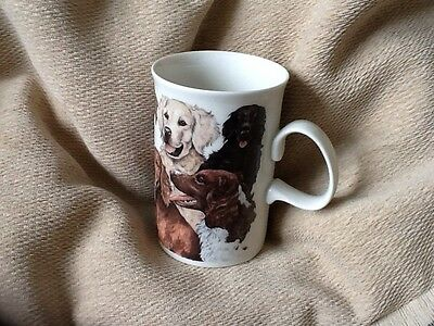 Dunoon Mug with 'Dogs' Design by Deborah Pope
