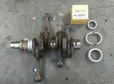 Vw 1600cc crank shaft and con rods with new parts