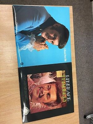 Two Pre-owned Liberace LPs