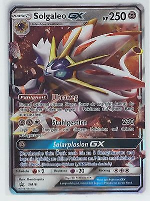 Pokemon Karte | Solgaleo GX SM16 | Tin Blackstar Promo 2017 | NM Neu Deutsch